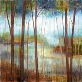 Soft Forest II Prints by Nan