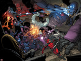 X-Men: Battle of the Atom No. 1: Beast, Sentinel, Iceman, Deadpool, Grey, Jean Posters