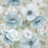 Pastel Garden I Poster by Carol Robinson