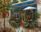 Anna's Corner Flower Shop Affiches par Nan