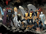 All-New X-Men No. 1: Beast, Grey, Jean, Cyclops, Iceman, Angel, Magneto, Magik, Frost, Emma Prints