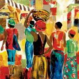 Market Day II Kunstdruck von Maria Donovan