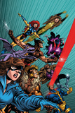 X-Men Forever No. 1: Pryde, Kitty, Lockheed, Sabretooth, Cyclops, Gambit, Wolverine Posters