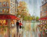Romantic Promenade II Posters by Nan