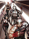 X-Force No. 1: Cable, Psylocke, Marrow, Fantomex Poster