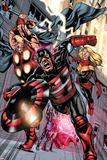 Dark Avengers No. 190: U.S. Agent, Moonstone, Trickshot, Toxic Doxie, Ragnarok Posters