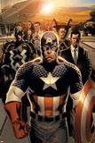 New Avengers No. 1: Captain America, Stark, Tony, Black bolt, Mr. Fantastic, Namor, Dr. Strange Pósters
