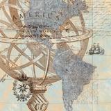 New World Print by Tava Studios