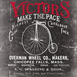 Antique Bicycle I Posters by Katrina Craven
