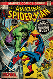 Marvel Comics Retro Style Guide: Spider-Man, Hulk Affiche