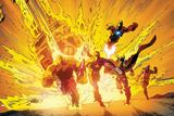 Avengers Assemble Style Guide: Hulk, Captain America, Thor, Iron Man, Hawkeye Photographie