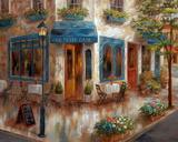 Le Petit Café Prints by Nan