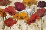 Happy Flowers Poster par Katrina Craven