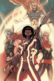 Avengers World No. 5: Manifold, Captain Marvel, Thor, Hyperion Poster
