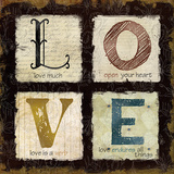 Love Much Prints by Carol Robinson