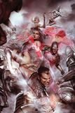 Uncanny X-Men No. 525: Namor, Psylocke, Cyclops, Frost, Emma, Iceman, Armor Print