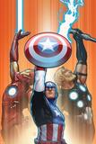 Ultimate Comics Ultimates No. 18.1: Captain America, Thor, Iron Man Plakat