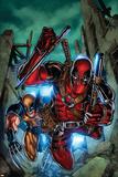 Weapon X: First Class No. 2: Wolverine, Deadpool Plakát