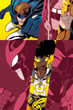 New Warriors No. 4: Justice, Speedball, Nova, Scarlet Spider, Sun Girl, Water Snake Posters