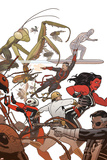 Defenders No. 10: Iron Fist, Red She-Hulk, Dr. Strange, Silver Surfer, Ant-Man Prints