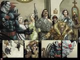 X-Men Origins: Gambit No. 1: Mr. Sinister, Scalphunter, Vertigo, Sabretooth, Arclight, Gambit Print