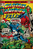 Marvel Comics Retro Style Guide: Captain America, Red Skull Posters