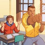 Ultimate Spider-Man Style Guide: Parker, Peter, Cage, Luke Plakát