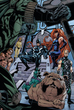 X-Men: Kingbreaker No. 4: Black Bolt, Medusa, Karnak, Lockjaw Posters