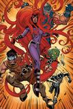 Inhumanity No. 2: Medusa, Gorgon, Eelak, Alaris, Drive Print