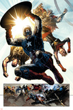 Infinity No. 6: Captain America, Captain Marvel, Thor, Hyperion, Proxima Midnight, Thanos Prints