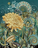 Inspired Blooms I Art by Conrad Knutsen