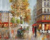 Romantic Promenade I Prints by Nan