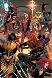 Avengers No. 17: Thor, Captain Marvel, Spider Woman, Wolverine, Spider-Man, Captain Marvel Photo