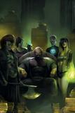 Avengers Undercover No. 1: Hazmat, Cammi, Bloodstone, Anachronism, Baron Zemo, Death Locket Prints