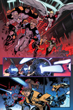 All-New X-Men No. 22: Pryde, Kitty, Grey, Jean, Archangel, Cyclops, Beast, X-23, ShiAr Photo