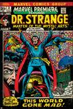 Marvel Comics Retro Style Guide: Dr. Strange Poster