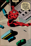 Marvel Comics Retro Style Guide: Daredevil Poster