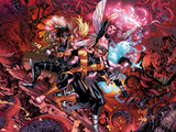 X-Men: Hellbound No. 1: Cannonball, Gambit, Northstar, Pixie Prints