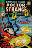 Marvel Comics Retro Style Guide: Dr. Strange Prints
