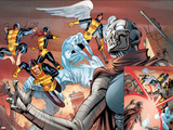 X-Men: Battle of the Atom 2 No. 1: Beast, Grey, Jean, Cyclops, Xorn, Iceman, Angel Prints