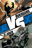AVX: VS No. 5: Storm, Black Panther, Hawkeye, Angel Posters