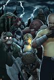 Dark Avengers No. 182: Troll, Cage, Luke, Moonstone, Mr. Hyde, Juggernaut, Satana Prints