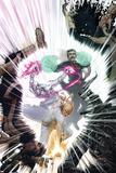 New Mutants No. 44: Iron Fist, Silver Surfer, Dr. Strange Pósters