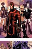 Uncanny X-Men No. 1: Cyclops, Frost, Emma, Magneto, Magik, Triage, Tempus Posters