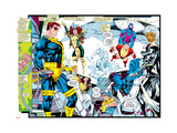 X-Men Forever Alpha No. 1: X-Men No. 1: Cyclops, Rogue, Storm, Archangel, Colossus, Iceman Prints