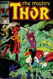 Marvel Comics Retro Style Guide: Thor, Malekith Posters