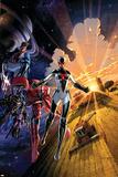 Avengers No. 5: Gladiator, Starbolt, Mentor, Warstar, Manta, Smasher Prints