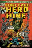 Marvel Comics Retro Style Guide: Cage, Luke Plakát