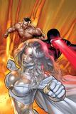 Uncanny X-Men No. 515: Frost, Emma, Cyclops, Namor Poster