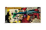 Marvel Comics Retro Style Guide: Black Bolt, Karnak, Medusa, Lockjaw Posters
